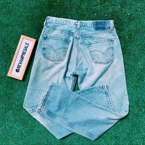 VINTAGE 90's LEVI'S 501 HIGH RISE DENIM JEANS